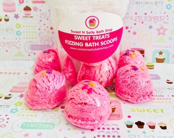 Pink Sugar Frappe Bath Scoops