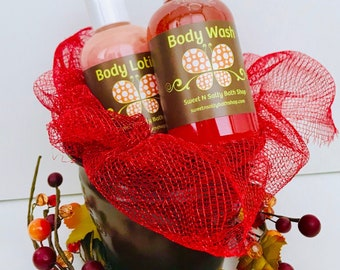 Caramel Apple Body Wash & Lotion-More Fall Scents to Choose From!
