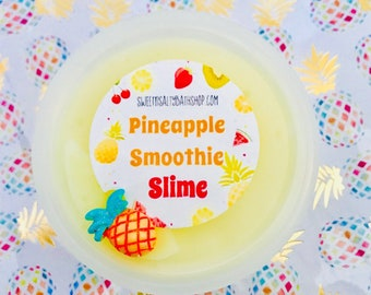 Pineapple Smoothie Scented Slime-More Scent Choices
