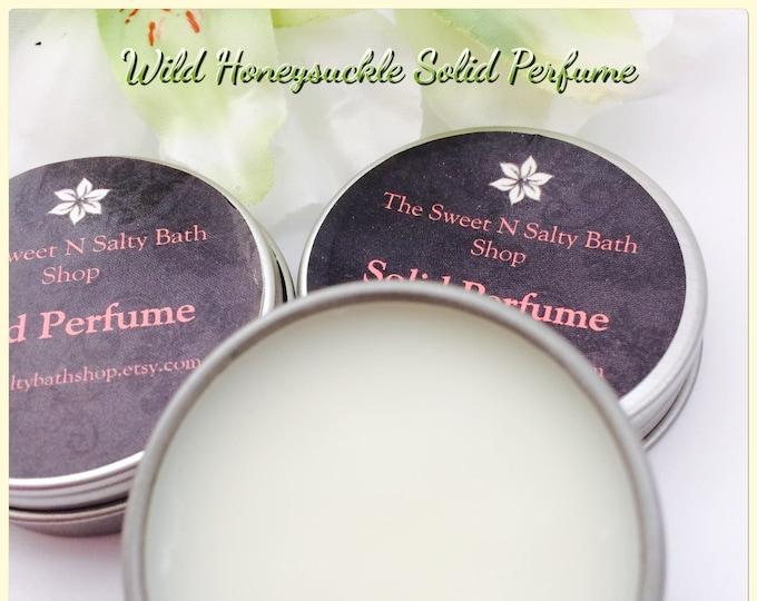 Wild Honeysuckle Solid Perfume
