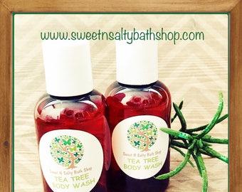 Tea Tree Body Wash/Shower Gel