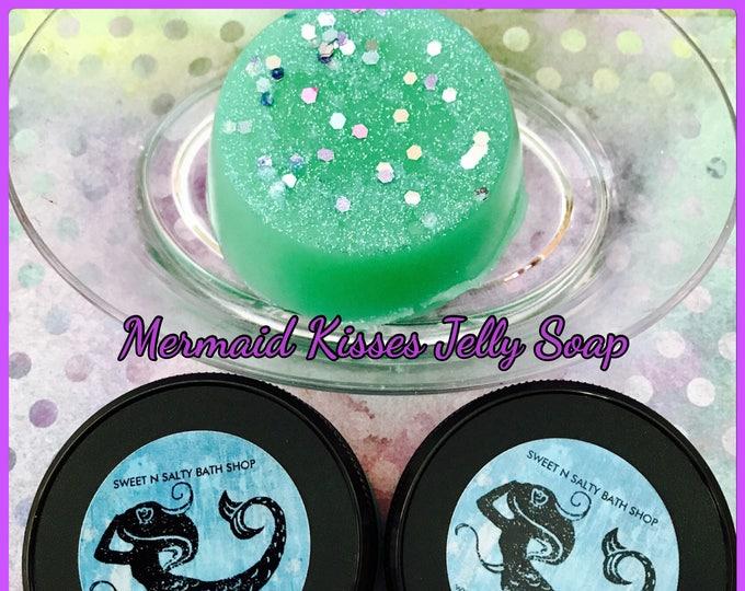 Mermaid Kisses Shimmering Shower Jelly Soap