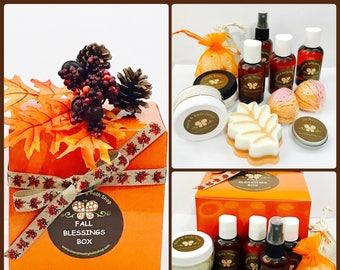 Fall Blessings Deluxe Bath & Body Sampler Box