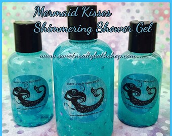 Mermaid Kisses Shimmering Bath and Shower Gel