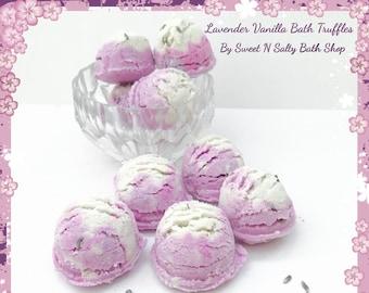 Lavender Vanilla Fizzing Bath Truffles