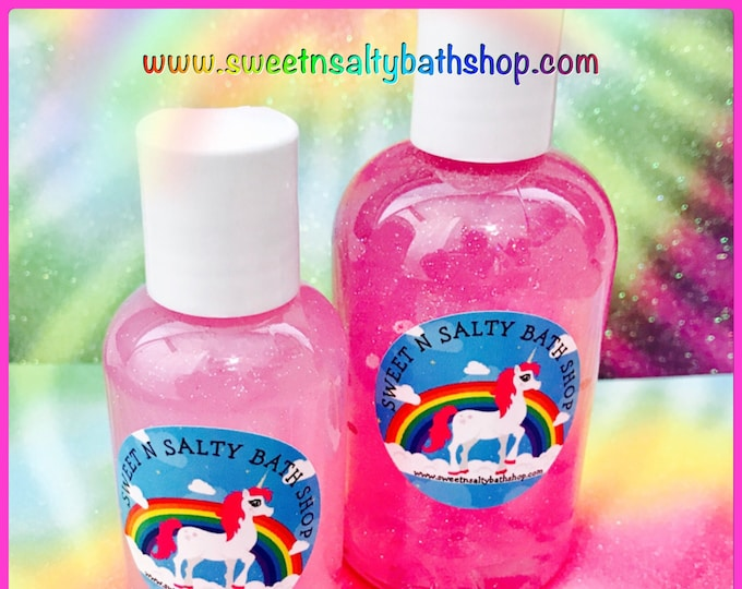 Unicorn Kisses Shimmering Bath and Shower Gel