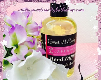 Lavender Vanilla Reed Diffuser Oil Refill With Reeds-More Scents to Choose From!!