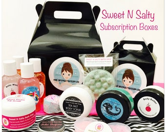 Sweet N Salty Monthly Subscription Sampler Box
