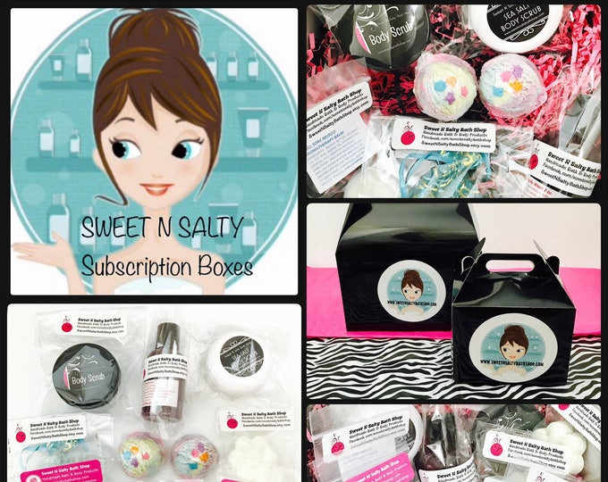 Sweet N Salty Deluxe Monthly Subscription Sampler Box