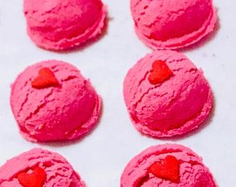 Maraschino Cherry Fizzing Bath Truffles