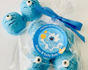 Cookie Monster Fizzing Bath Scoops