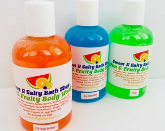 Georgia Peach Fun & Fruity Exfoliating Body Wash-More Scents to Choose From!