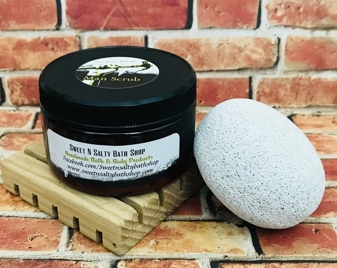 Man Scrub/Mechanics Scrub/Exfoliating Soap Scrub-Choose Your Scent