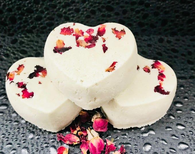 Sensual Black Rose Moisturizing Heart Bath Bomb
