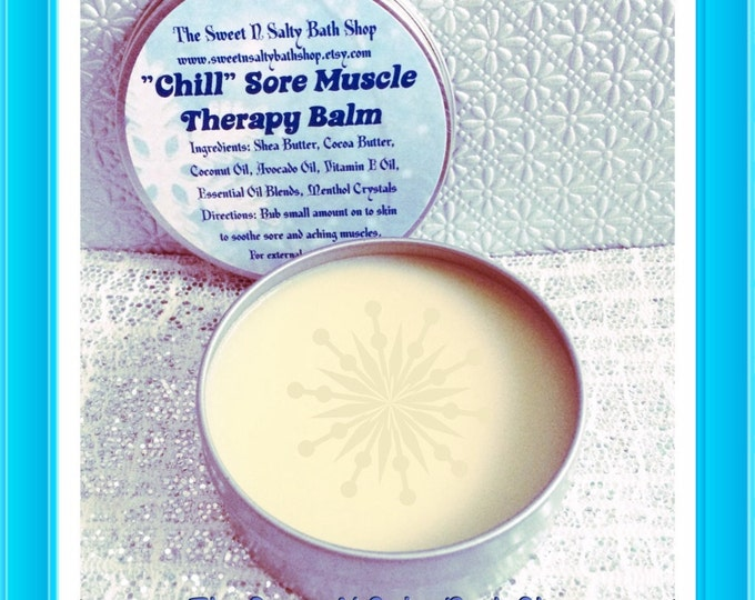 Chill Sore Muscle Relief Aromatherapy Balm