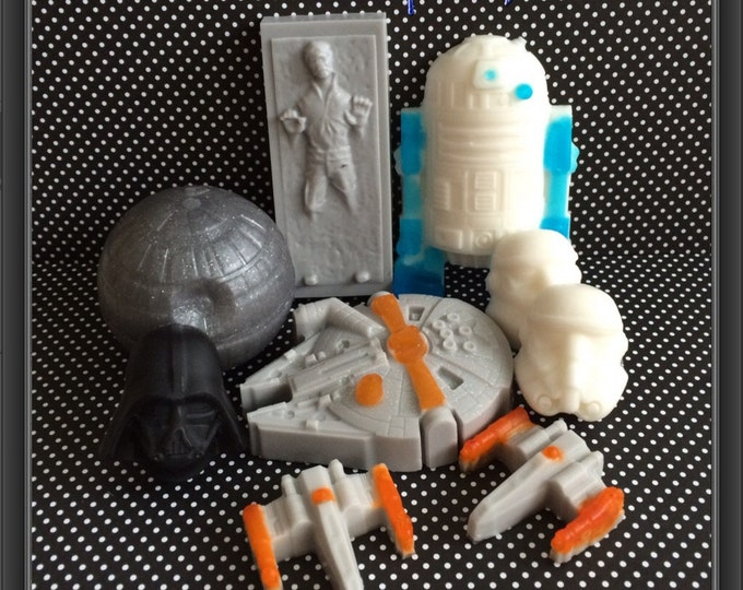 Star Wars Inspired Deluxe Soap Gift Set-9 Soaps!!