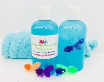 Little Fish in a Bottle Bath and Body Wash