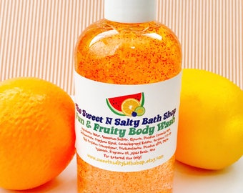 Fun & Fruity Citrus Burst Exfoliating Body Wash-More Scents to Choose From!