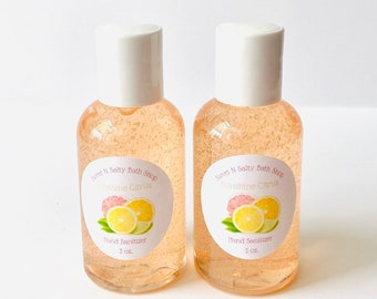 Sunshine Citrus Travel Size Hand Sanitizer