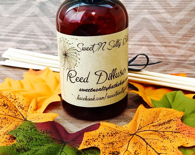 Featured listing image: Autumn Magic Reed Diffuser Oil Refill With Reeds/More Fall Scents to Choose From!!