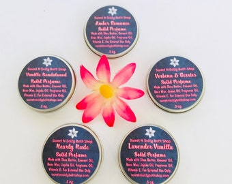 Solid Perfume-Choose Your Scent!