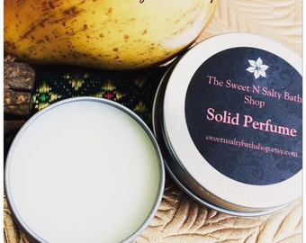 Asian Pear and Lily Solid Perfume