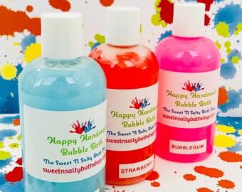Fun Scents Happy Handmade Bubble Bath/Shower Gel