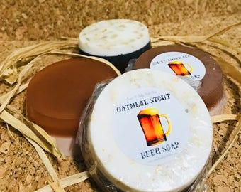 Oatmeal Stout Goatsmilk & Honey Soap
