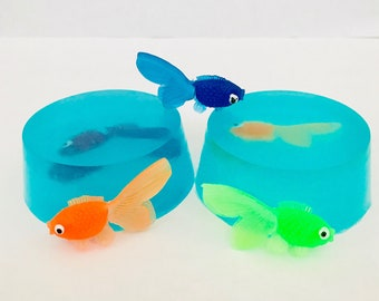 Fish In A Bag Scented Soap