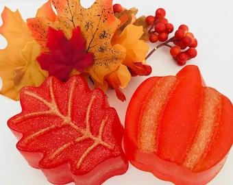 Autumn Scents Pumpkin & Leaf Soap