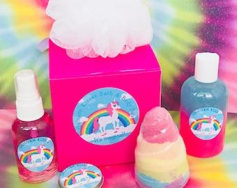 Unicorn Kisses Bath & Body Box