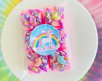 Unicorn Kisses Mini Bath Melts