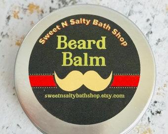 Beard Balm/Wax for Men-Zanzibar Spice/Scotch Whisky/Kentucky Bourbon/Manly Man/Stud and Many More Scents!