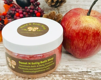 Caramel Apple Hand & Body Scrub-More Scents to Choose From