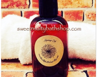 Relaxing Massage Oil for Men-Choose Your Scent