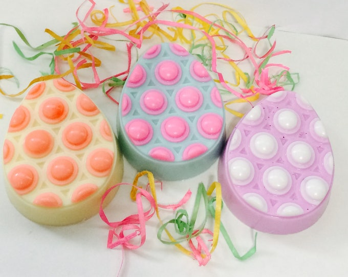Featured listing image: Easter Egg Shea Butter Scented Massage Bar Soap
