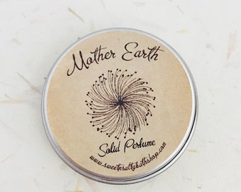 Mother Earth Solid Perfume