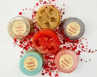 Holiday Scents Hemp & Honey Loofah Soap-Many Scents to Choose From!!