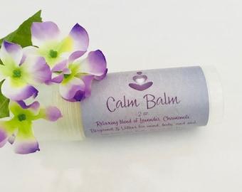 Calm Balm Aromatherapy