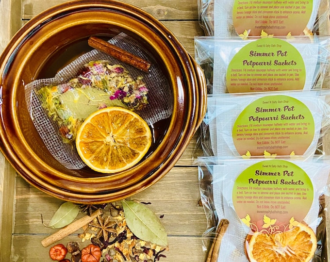 Featured listing image: Fall Simmer Pot/Stovetop Potpourri Sachets