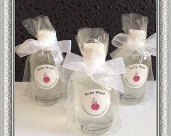 Set of 20 Bridal/Baby Shower Body Wash Favors