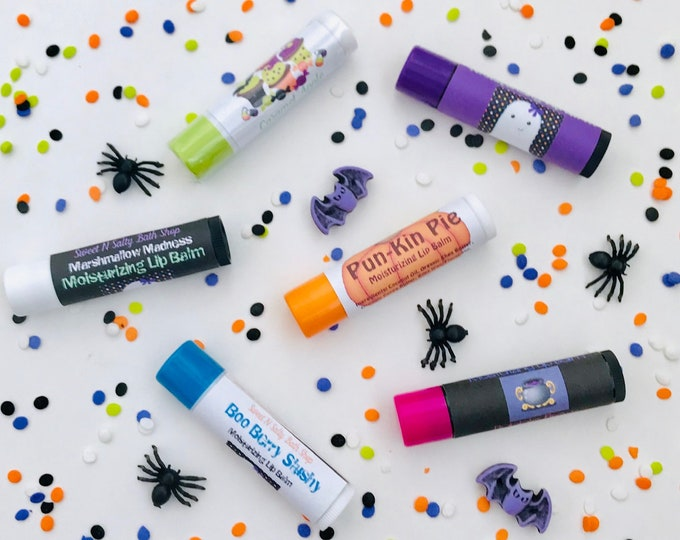 Featured listing image: Halloween Lip Balm-Choose Your Flavor!