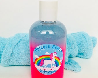 Unicorn Kisses Shimmering Bath and Shower Gel