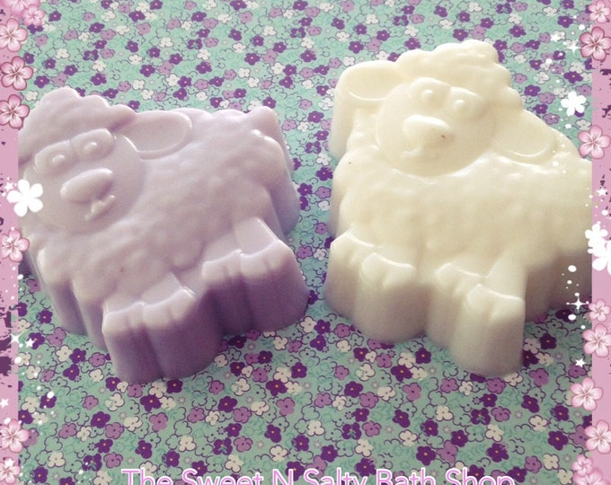 Sweet Dreams Night Time Sheep Baby Buttermilk Soap