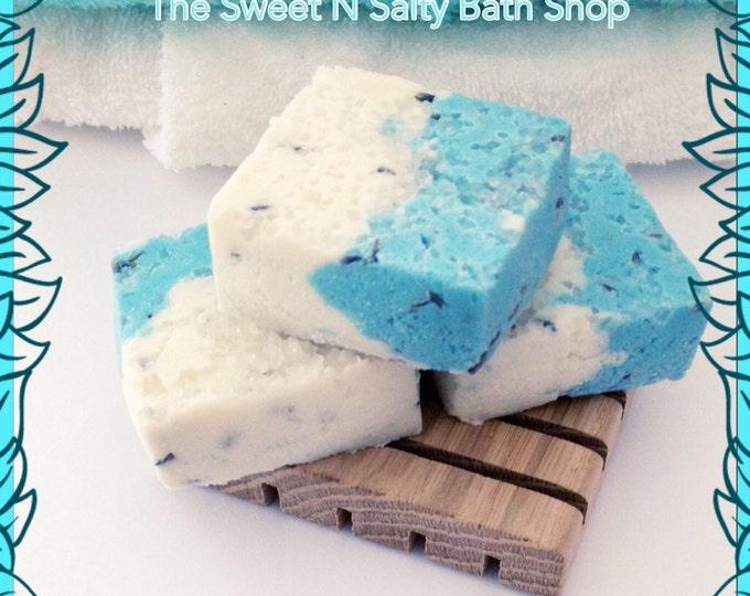 Aromatherapy Relaxing Spa Sea Salt Bath Truffles Set of Three