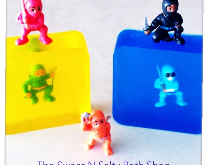 Ninja Scented Toy Soap