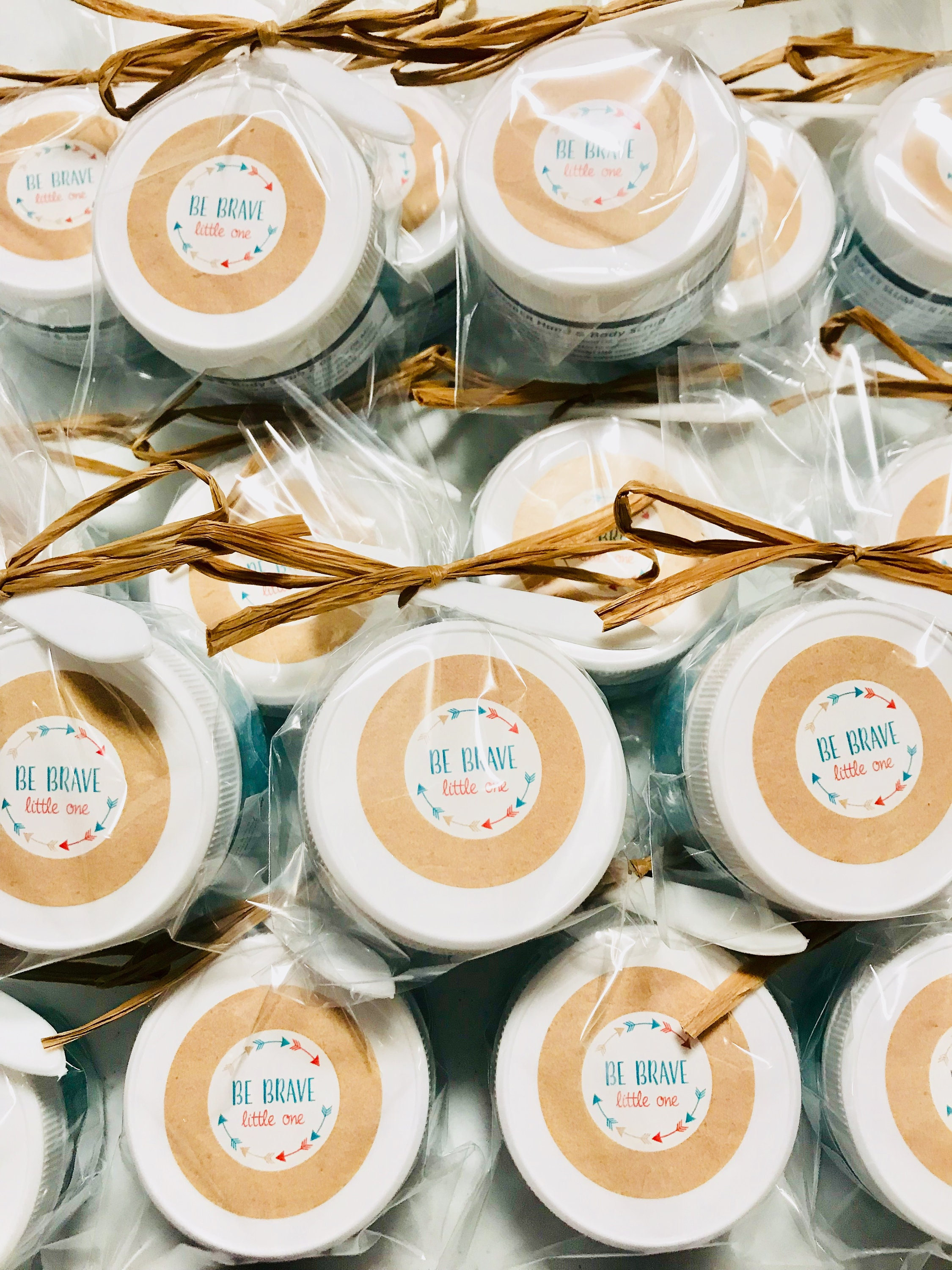 d2922949896 Personalized Sugar Scrub 2oz Baby Shower Favors