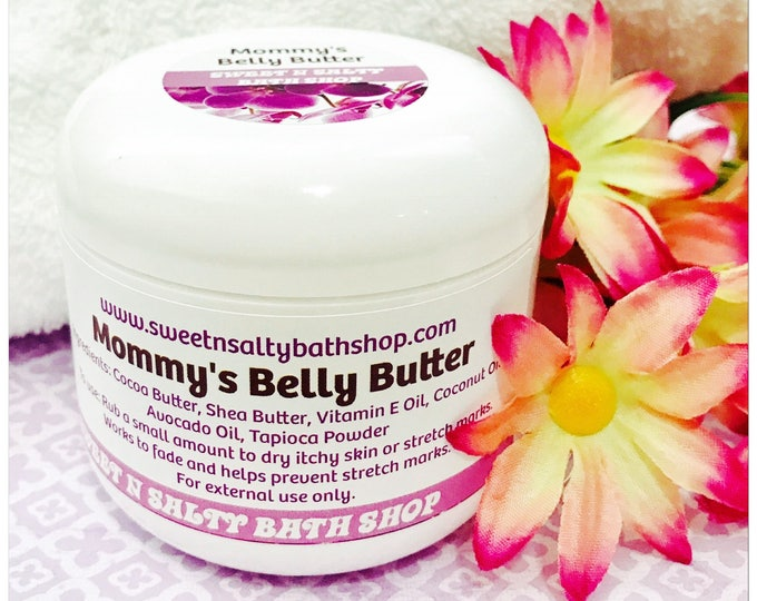 Mommy's Whipped Belly Butter
