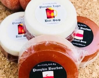 Pumpkin Lager Goatsmilk & Hemp Soap