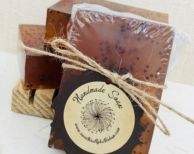 Mother Earth African Black Soap/More Scents to Choose From!!